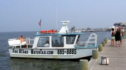 Picture of a water taxi