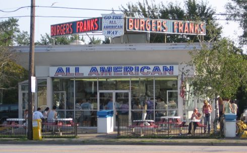 long island restaurants all american hamburger stand