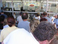 Fast food line