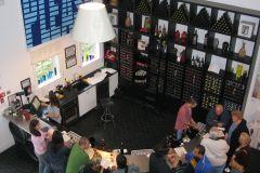 A tasting room