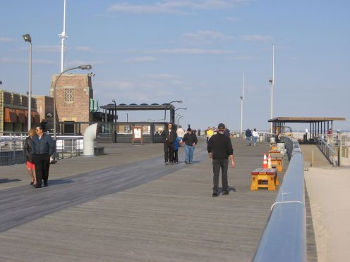 Jones Beach boardwalk