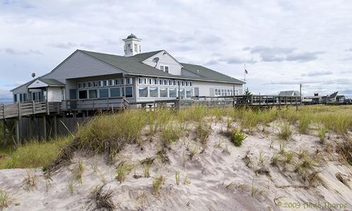A restaurant on the beach