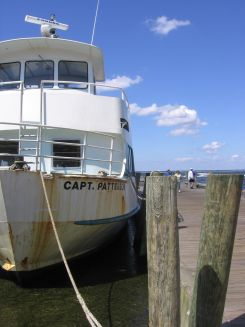 A Fire Island Ferry boat