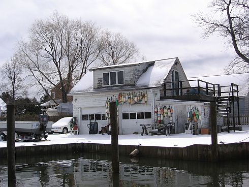 Fisherman's garage