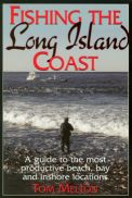 Book cover, Fishing the Long Island Coast