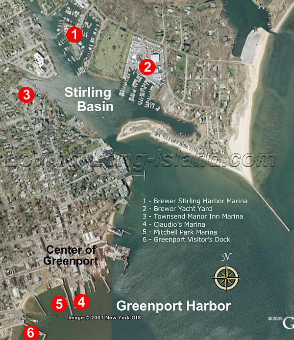 Greenport marinas long island new york for Good places to fish near me
