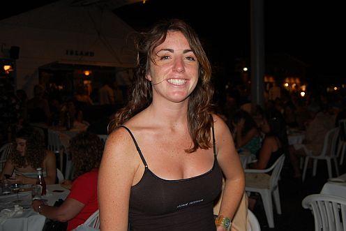 a waitress