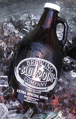 half gallon jug of beer