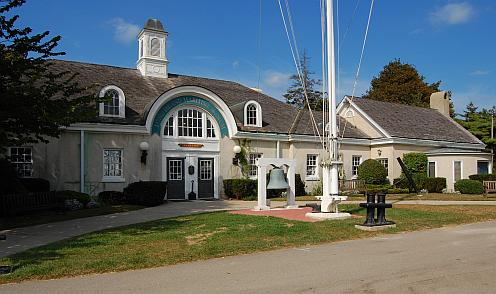 Long Island Maritime Museum main building