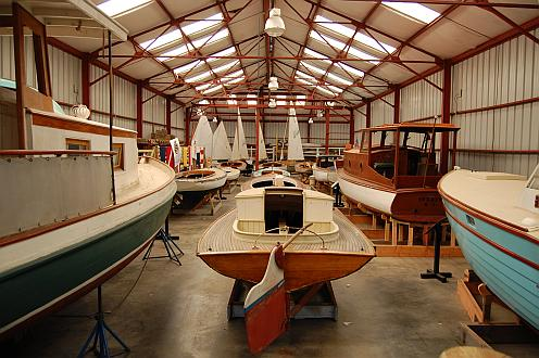 Small boat exhibit