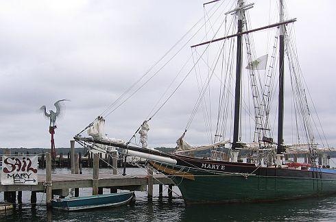 Old schooner