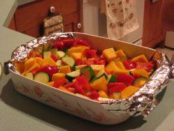 Roasted vegitables