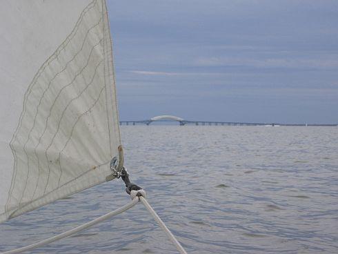 sail and bridge