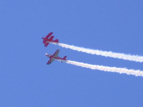 biplane and monoplane