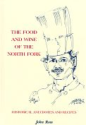 Book cover, The Food and Wine of the North Fork
