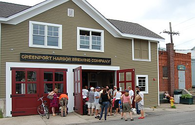 Greenport Harbor Brewery and old jailhouse