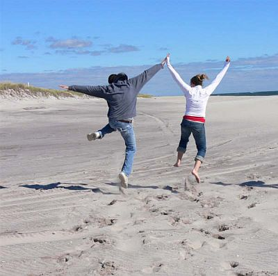 High Five on Fire Island