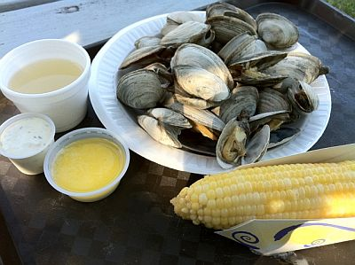 Steamers and Corn